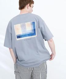 ART×EMMA CLOTHES別注 アート転写プリントビックシルエット半袖カットソー バックプリント グラフィック カットソーその他8