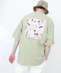 ART×EMMA CLOTHES別注 アート転写プリントビックシルエット半袖カットソー バックプリント グラフィック カットソーその他9
