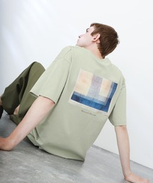 ART×EMMA CLOTHES別注 アート転写プリントビックシルエット半袖カットソー バックプリント グラフィック カットソーその他10