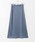 KBF(ケイビーエフ)の「サテンAラインスカート(スカート)」|詳細画像