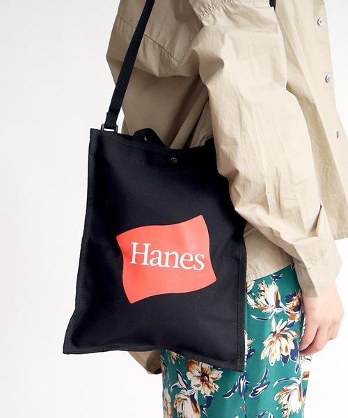 ∴【Hanes/ヘインズ】キャンバス2wayトートバック
