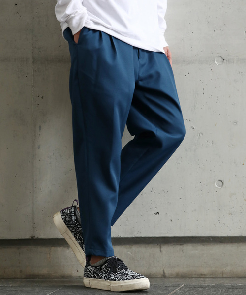 激安人気新品 【LISS】Stretch Tapered Cropped Pants, 阿南町 6c45d812