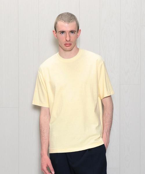 <H>HEMP COTTON CREW NECK SHORT SLEEVE T-SHIRT/Tシャツ о