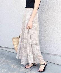 Khaju(カージュ)のKhaju:フラワープリントロングスカート◆(スカート)