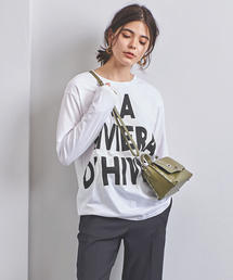 <m's braque(エムズ ブラック)>RIVIERA Tシャツ
