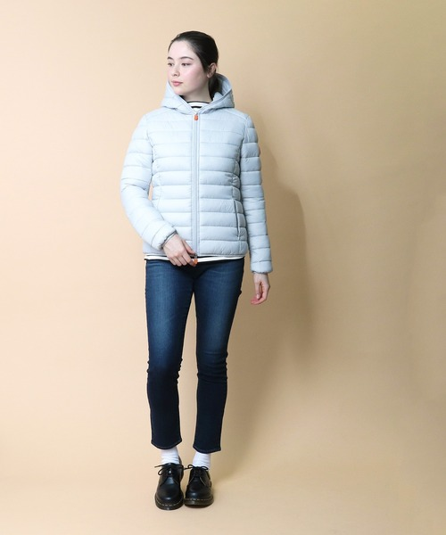 【 Save the duck / セーブ ザ ダック 】Icons Quilted Jacket アイコンズ キルテッド ジャケット D3362W TJN・・