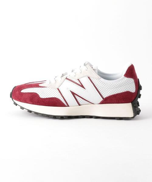 New Balance(ニューバランス)の「New Balance(ニューバランス)MS327 primary pack(スニーカー)」|レッド