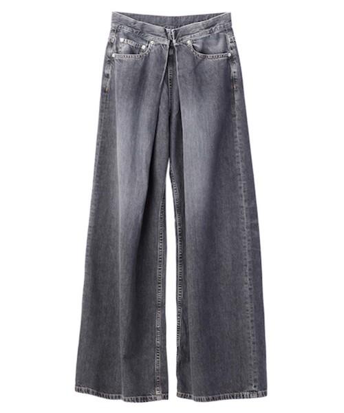 最新エルメス WASHED DENIM WIDE LAWRENCE WIDE PANTS(デニムパンツ) JOHN JOHN LAWRENCE SULLIVAN(ジョンローレンスサリバン)のファッション通販, ソーワーク:1bf99dc3 --- ulasuga-guggen.de