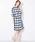 MICHEL KLEIN(ミッシェル・クラン)の「【洗える】【セットアップ対応】ブリジットチェックデザインフレアスカート(スカート)」|詳細画像