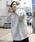 PUBLUX(パブリュクス)の「PUBLUX/パブリュクス【ユニセックスアイテム】12oz HEAVY WEIGHT SWEAT PARKA/ヘビーウェイトビッグシルエットスウェットパーカ—/オーバーサイズフーディ—(パーカー)」|グレー