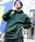 PUBLUX(パブリュクス)の「PUBLUX/パブリュクス【ユニセックスアイテム】12oz HEAVY WEIGHT SWEAT PARKA/ヘビーウェイトビッグシルエットスウェットパーカ—/オーバーサイズフーディ—(パーカー)」|モスグリーン