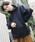 PUBLUX(パブリュクス)の「PUBLUX/パブリュクス【ユニセックスアイテム】12oz HEAVY WEIGHT SWEAT PARKA/ヘビーウェイトビッグシルエットスウェットパーカ—/オーバーサイズフーディ—(パーカー)」|ブラック