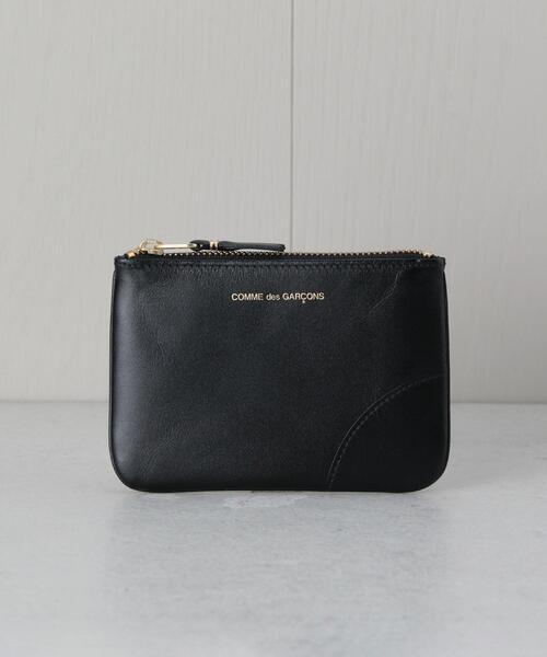 <Wallet COMME des GARCONS>ZIP POUCH CLASSIC/ポーチ.