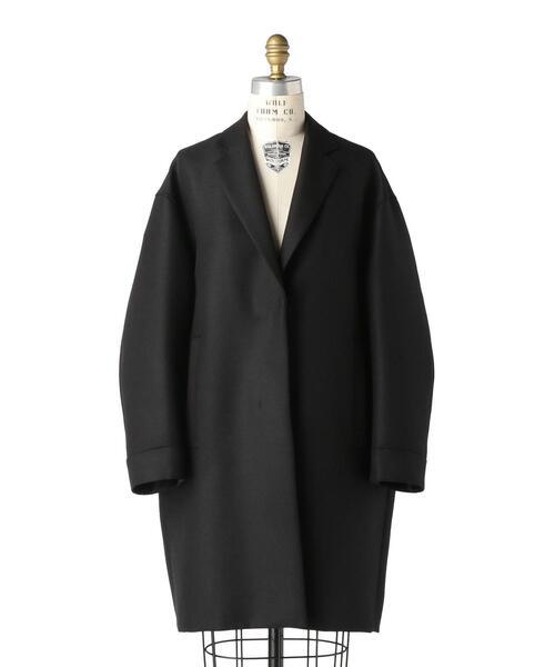 Drawer ウールモヘヤナナコ織ロングジャケット