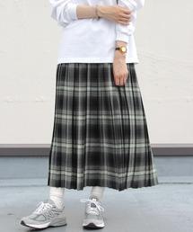 LE GLAZIK/ル グラジック タックギャザースカート TUCK GATHER SKIRT JL-5079YUNグリーン