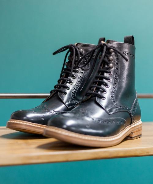 London Shoe Make / ロンドンシューメイク ·グッドイヤーウェルト製法· カントリーブーツ 602