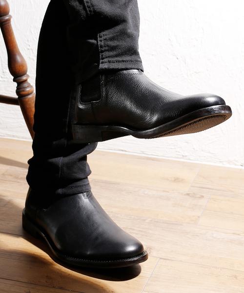 新着商品 BICASH レザーサイドゴアブーツ #083(ブーツ)|BICASH(ビカーシ)のファッション通販, 日コン:b5d1e427 --- kredo24.ru