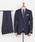 URBAN RESEARCH(アーバンリサーチ)の「URBAN RESEARCH Tailor カノニコサージスーツ(スーツセット)」 ネイビー