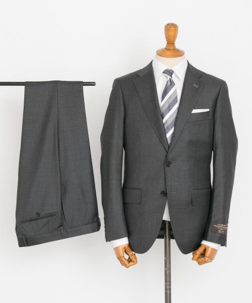 URBAN RESEARCH(アーバンリサーチ)の「URBAN RESEARCH Tailor カノニコサージスーツ(スーツセット)」 グレー