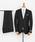 URBAN RESEARCH(アーバンリサーチ)の「URBAN RESEARCH Tailor カノニコサージスーツ(スーツセット)」 ブラック