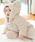 SweetMommy(授乳服&マタニティ)(スウィートマミー)の「ボア&オーガニックコットン アニマル カバーオール(カバーオール)」|ベージュ