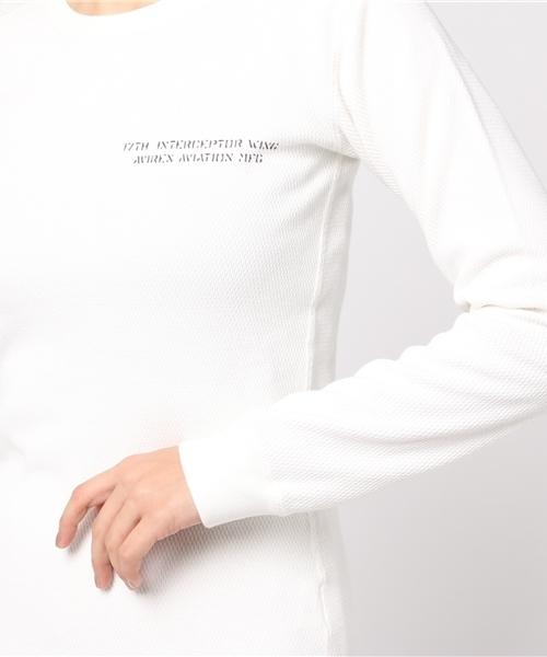 【直営店限定】L L/S HONEYCOMB WAFFLE TEE/ ハニカム ロングスリーブ ワッフルティーシャツ