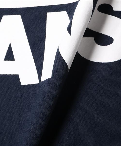 VANS ヴァンズ VANS LOGO BASIC HOODY VANS-HD02 NAVY