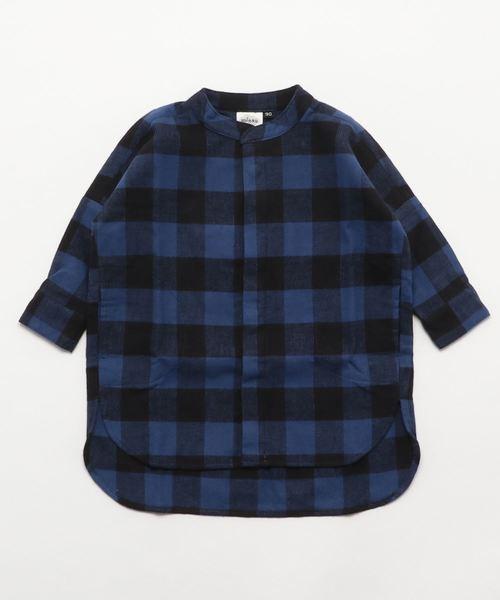 minau/ミナウ ロングシャツ ユニセックス