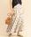 BEAUTY&YOUTH UNITED ARROWS(ビューティアンドユースユナイテッドアローズ)の「BY∴ リネンドットフレアロングスカート -手洗い可能-(スカート)」|ナチュラル