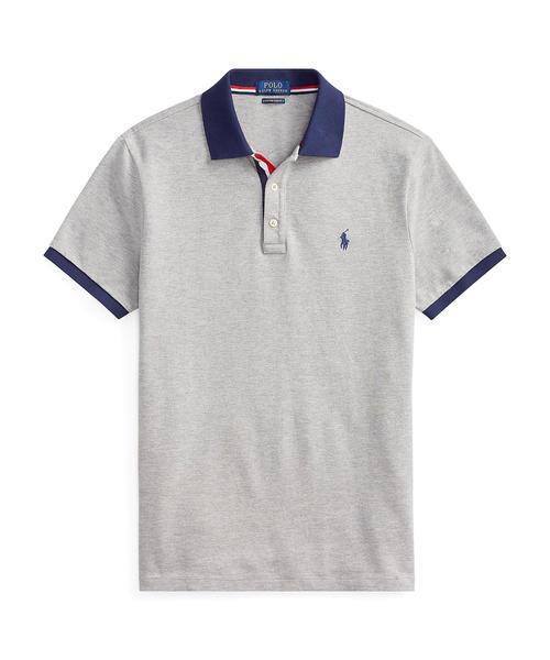 fd3416336033e POLO RALPH LAUREN(ポロラルフローレン)のカスタム スリム フィット メッシュ ポロシャツ(ポロシャツ