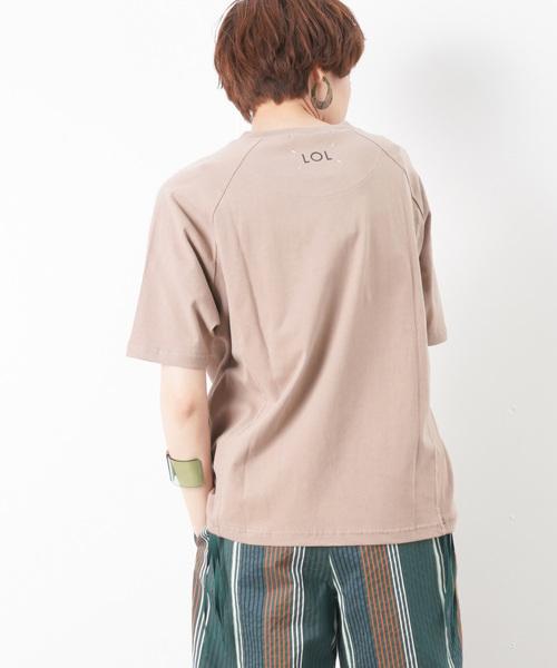 6bf599682c0 セール】LC/LLL バックプリントTシャツ(Tシャツ/カットソー)|LUCA ...