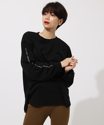 AZUL BY MOUSSY(アズールバイマウジー)のLONG SLEEVE LOOSE TOPS/ロングスリーブルーズトップス(Tシャツ/カットソー)