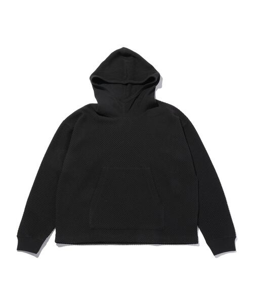 <monkey time> BIAS WAFFLE PULL OVER HOODIE/パーカー