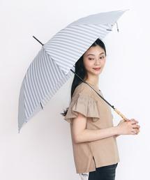 【ALCEDO/アルセド】晴雨兼用長傘ライトグレー