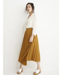DRWCYS(ドロシーズ)のシャツ地プリーツスカート(スカート)