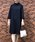 BE NEAT(ビーニート)の「PICCIN別注【日本製】衿&カフス付きワンピース(ワンピース)」 ブルー系その他