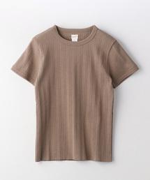 【WEB限定】Healthknit/ヘルスニット Vintage Broad Rib Crewneck/ヴィンテージ ブロード リブ クルーネック Tシャツ(Tシャツ/カットソー)