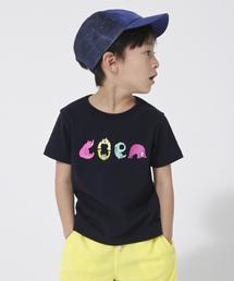 【coen キッズ / ジュニア】コーエンベアカラフルロゴTシャツ