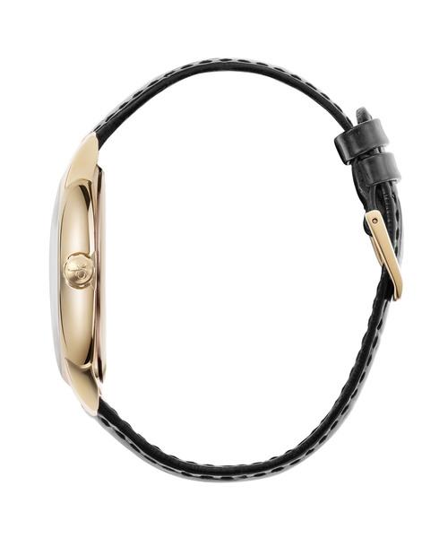 CALVIN KLEIN WATCHES+JEWELRY(カルバン?クライン ウォッチ&ジュエリー)の「[カルバンクライン] CALVIN KLEIN 腕時計 Established(エスタブリッシュド) 3針 イエローゴールド×シルバー(アナログ腕時計)」 詳細画像