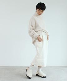 caph(カーフ)の8Wパフコール スカート(スカート)