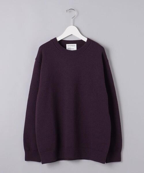 【別注】<THISISASWEATER.(ディスイズアセーター)> クルーネックセーター