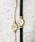 agete(アガット)の「革ベルトジュエリーウォッチ 【AGETE33BK時計】(アナログ腕時計)」|詳細画像