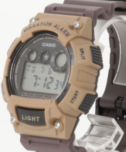CASIO カシオ / デュアルタイム  デジタルウォッチ クォーツ 腕時計 W-735H-1AV W-735H-1A2V W-735H-8A2V W-735H-2AV W-735H-2AV W-735H-8AV