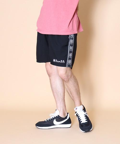 【 BomBR / ボンビーアール 】active pleats shorts アクティブプリーツショーツ