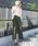 Social GIRL(ソーシャルガール)の「コットンワイドストレートベイカーチノパンツ(チノパンツ)」|詳細画像