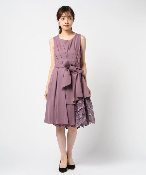 福袋 刺繍レース使い裾ギャップレングスワンピースドレス(ドレス) TRUDEA(トルディア)のファッション通販, 相良村:52419c8e --- steuergraefe.de