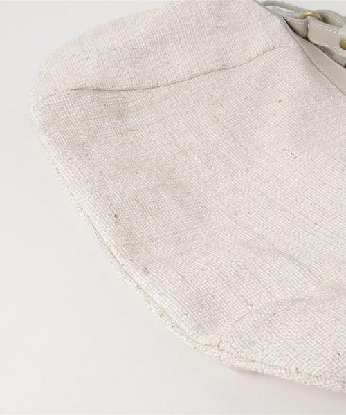 Saponetta(サポネッタ)の「サポネッタ saponetta / オリジナルウォッシュ クロワッサン ショルダー(ショルダーバッグ)」|詳細画像