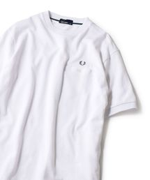 FRED PERRY(フレッドペリー)の【Begin5月号掲載】FRED PERRY: SHIPS別注 ピケ ポケット Tシャツ ■(Tシャツ/カットソー)