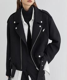 【Fano Studios】【2021AW】Batting wool riders jacket FD20W195ブラック