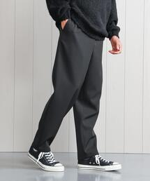<H>WORSTED WOOL EASY PANTS/パンツ